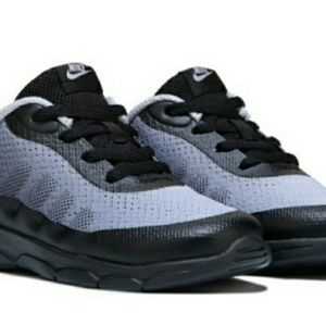 NWOT Nike Air Toddler Sneakers Black Grey & Orange